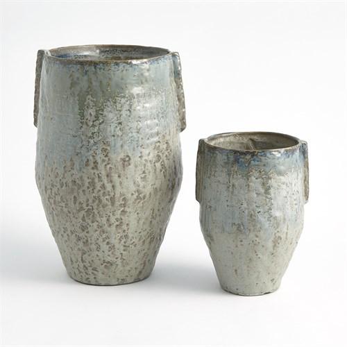 Pinch Pot Vase-Reactive Seafoam