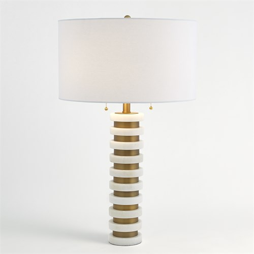 Marble Stack Lamp