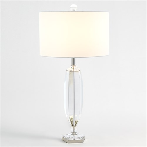Crystal Pentagonal Table Lamp