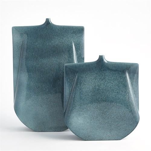 Kimono Vase-Teal