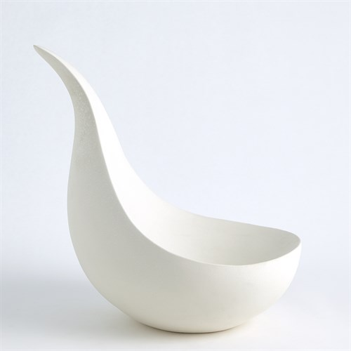 Scoop Bowl-Matte White