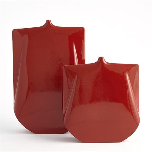 ~Kimono Vase-Red