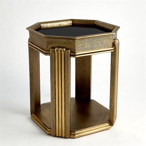 Tulip Table-Brass