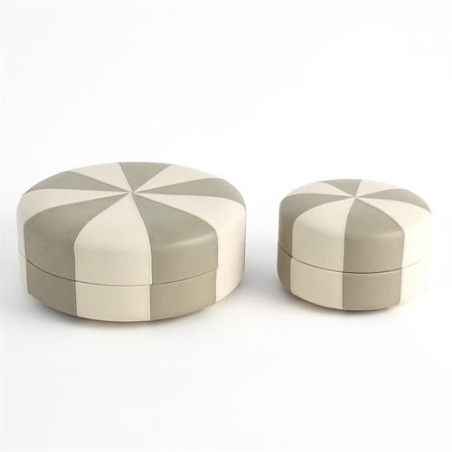 Peppermint Box-Light Grey/Ivory