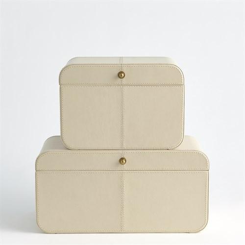 Curved Corner Box-Ivory