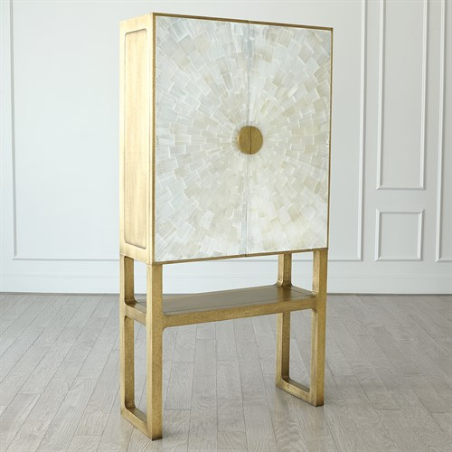 Gypsum Bar Cabinet