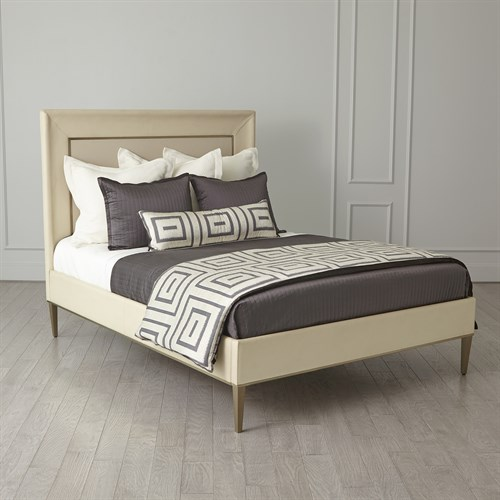 Ellipse King Bed-Ivory