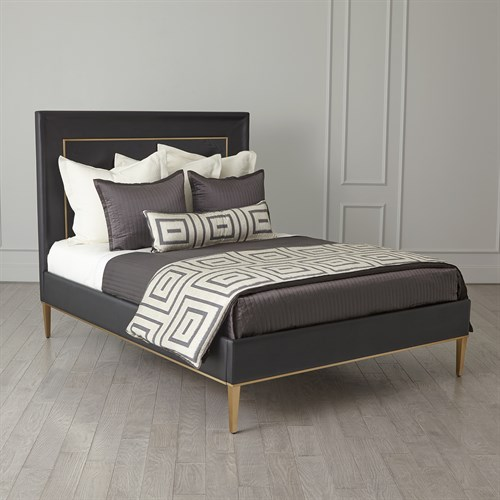 Ellipse King Bed-Black
