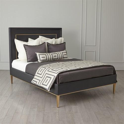 Ellipse King Bed-Black