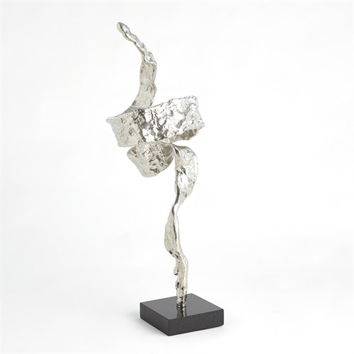Twist Sculpture-Nickel