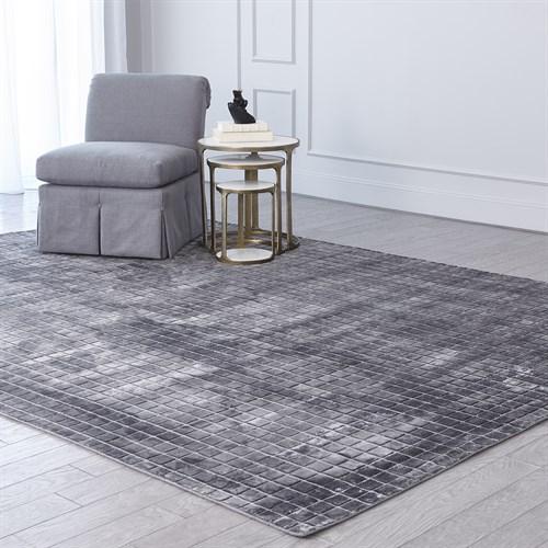 Graph Rug-Grey