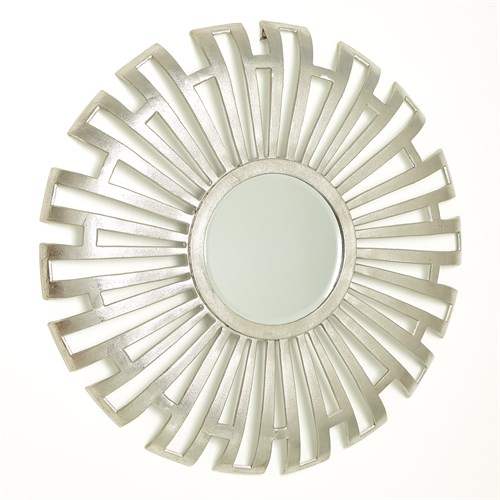 Radial Cut-Out Mirror-Nickel