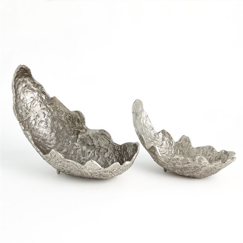 Leaf Bowl-Nickel