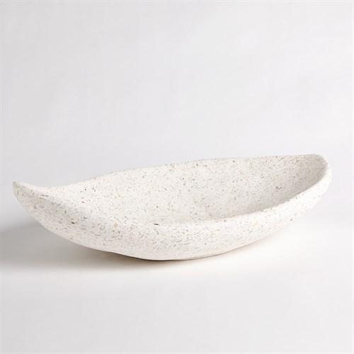 Modernist Low Bowl-Terrazzo