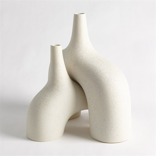 Stretch Vases-Cream Stone