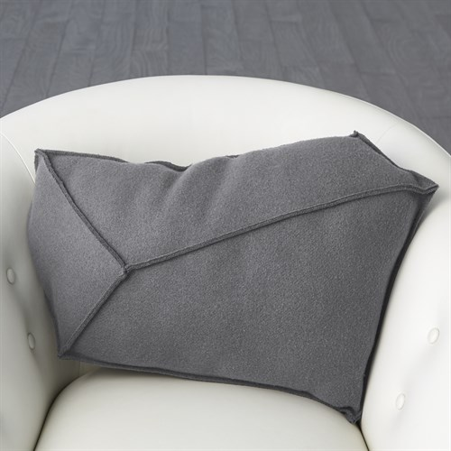Rock Pillow-Grey-Right
