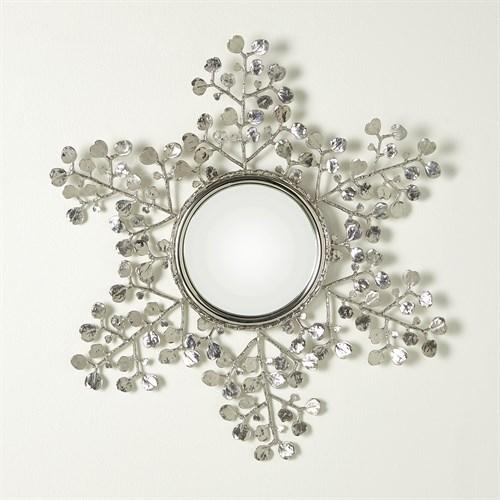 Leafy Mirror-Nickel