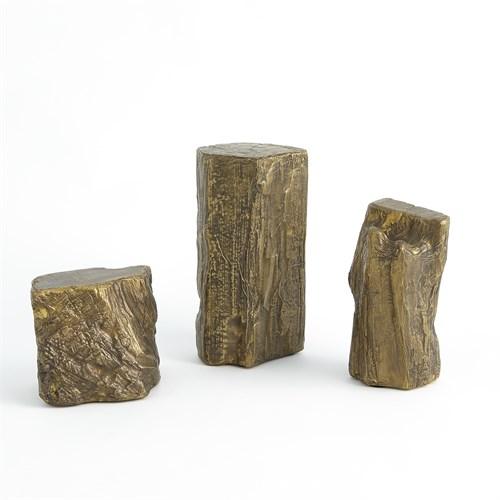 Timber Sculpture-Brass
