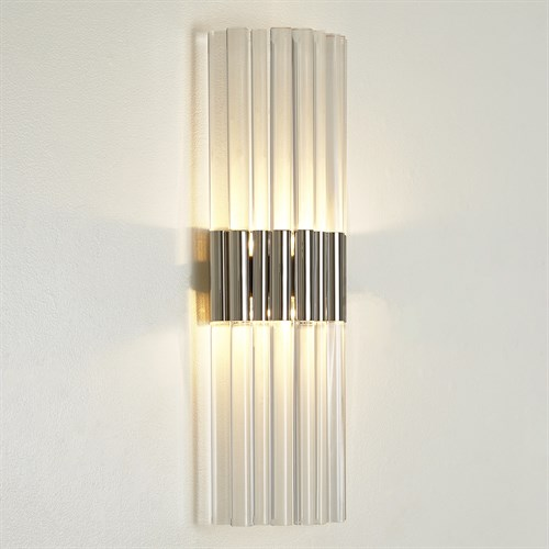 Acrylic Sconce-Nickel-HW