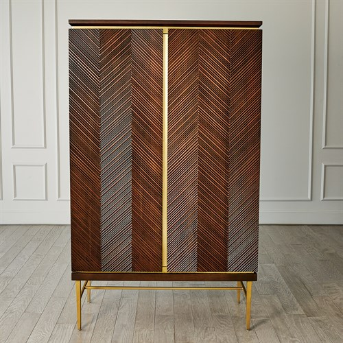 Latilla Tall Bar Cabinet
