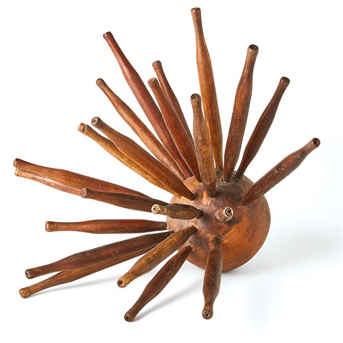 Sunburst Rollerpin/Wooden Ball