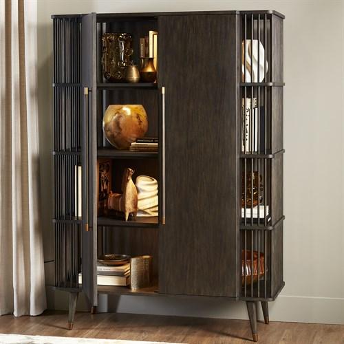 Arbor Tall Cabinet-Smoke