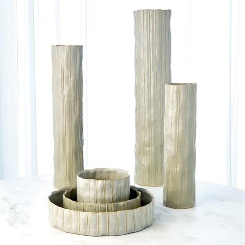 Paper Birch Vase-Sage