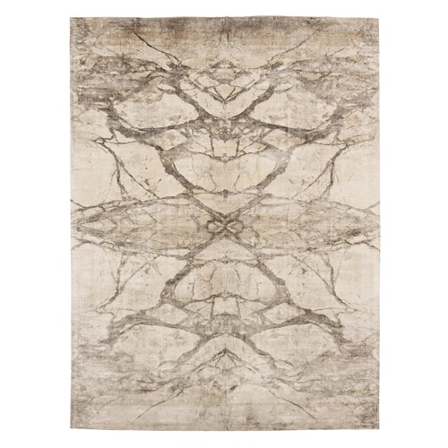 Mirror Match Marble Rug-Neutrals