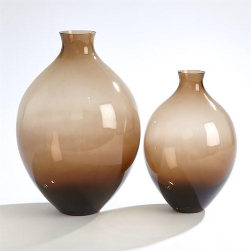 Amphora Glass Vases-Topaz