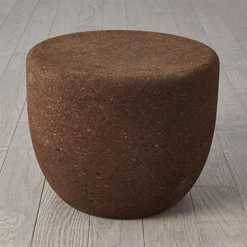 Espresso Round Cork Table