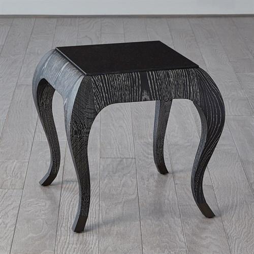 Paris Spot Table-Black Cerused Oak