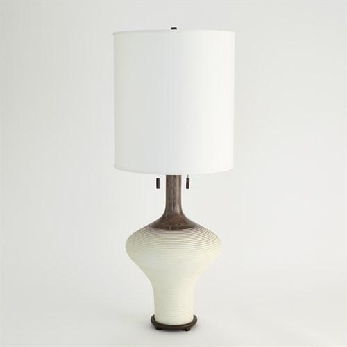 Ridge Bottle Lamp-Amethyst