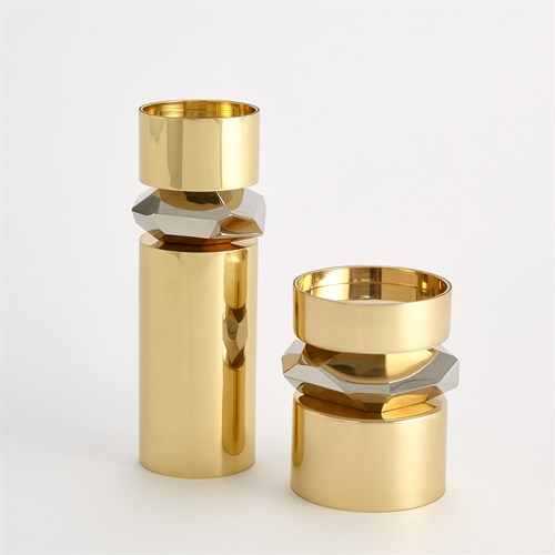 Romano Brass Candle Holders