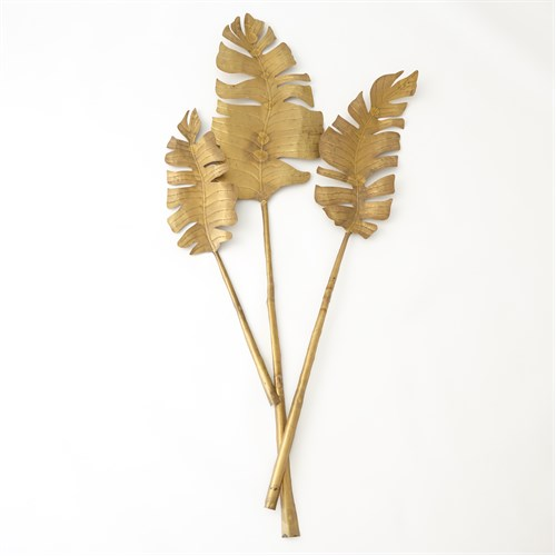 Brass Banana Leaf