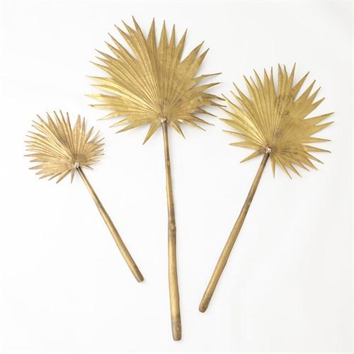 Brass Palm Leaf