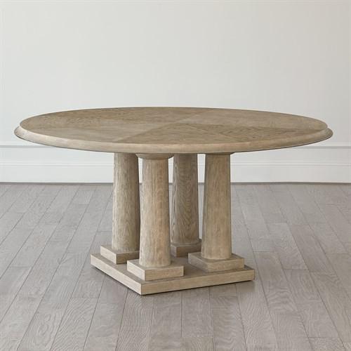 Titian Dining Table-Grey Sandblasted Oak-60