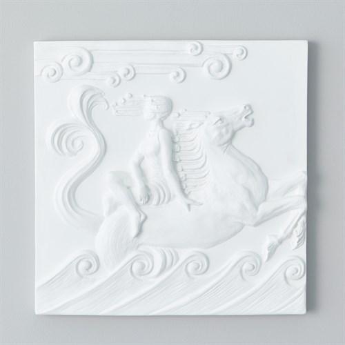 Seahorse Plaster Wall Panel