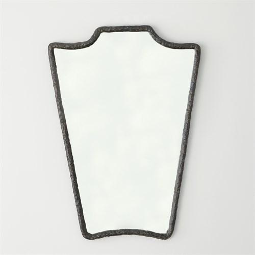 Cast Metal Wall Mirror