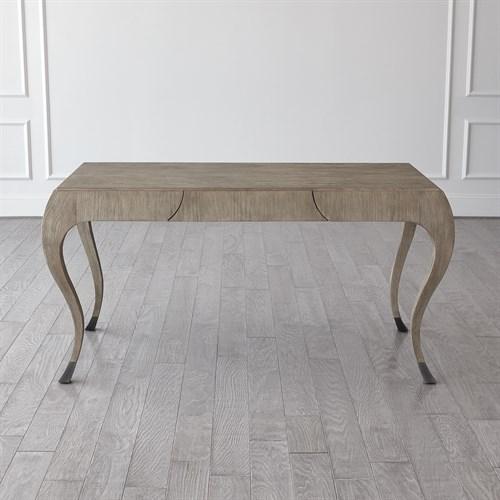Paris Desk-Grey Sandblasted Oak