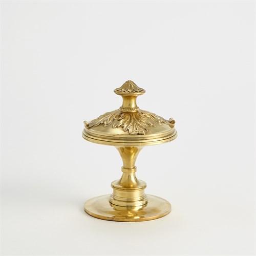 Newel Cap Sculpture-Brass