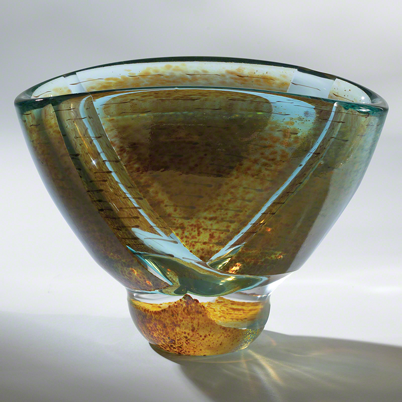 Blue Pond Bowl-Oval