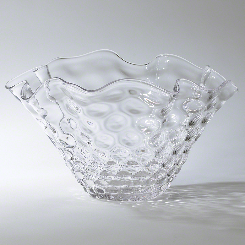 Honeycomb Optic Wavy Bowl