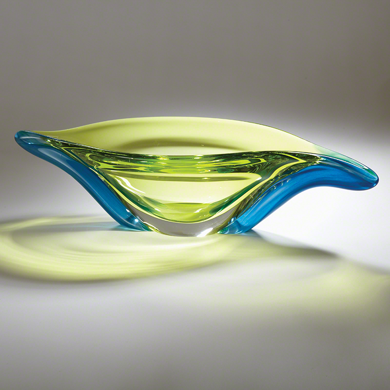 Swish Bowl-Aqua/Lime