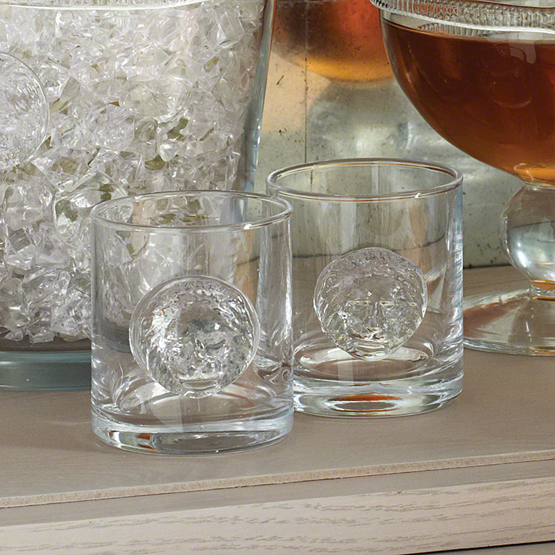 S/4 Double Old Fashion Leo Drinking Glasses