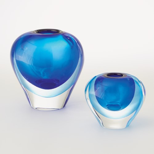 Organic Layer Vase-Ocean