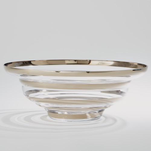 Saturn Bowl-Platinum