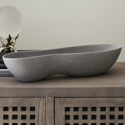 Peanut Bowl-Matte Grey