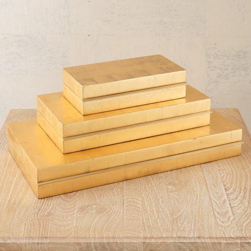 Nouveau Luxe Box-Gold Leaf
