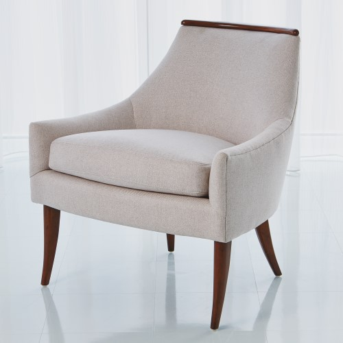 Boomerang Chair-Candid Fleece