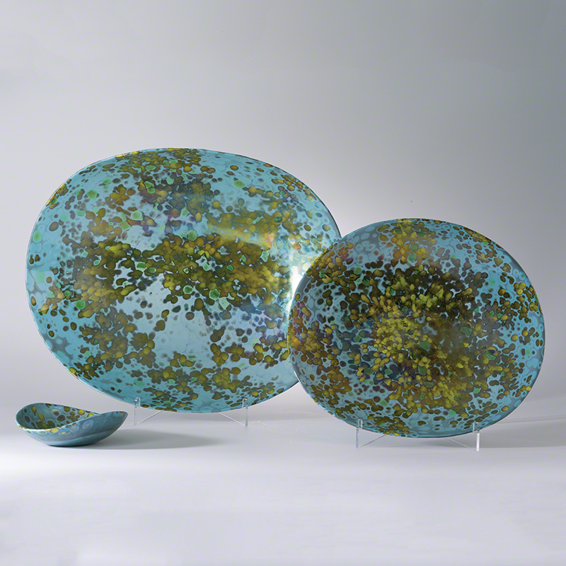 Galaxy Folded Bowl-Celestial